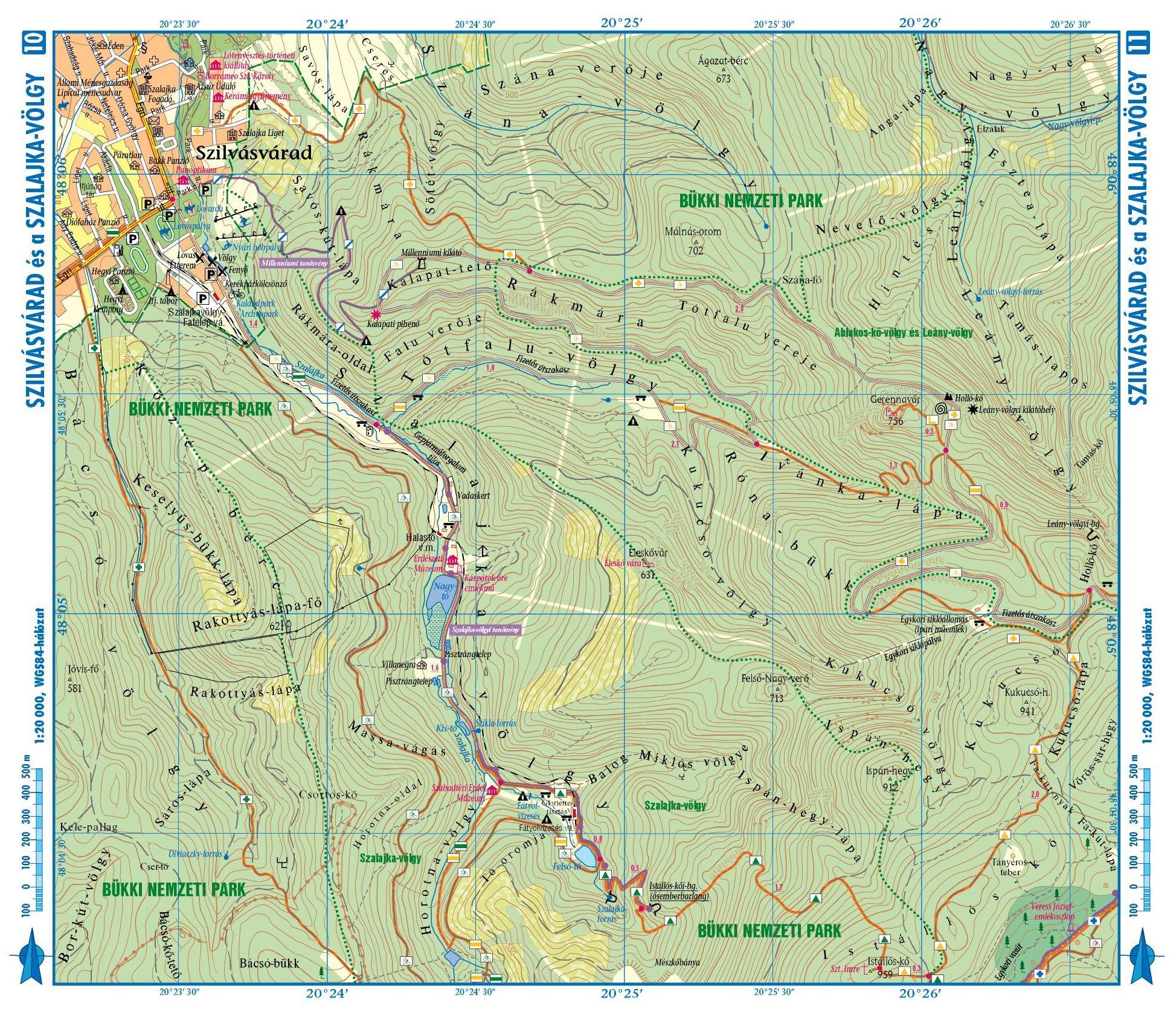 szilvásvárad térkép látnivalók Térképek aktív túrázóknak | Kormos Vendégház és Apartmanok szilvásvárad térkép látnivalók