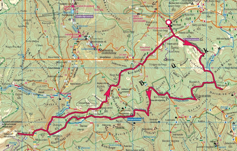 szilvásvárad térkép Térképek aktív túrázóknak | Kormos Vendégház és Apartmanok szilvásvárad térkép