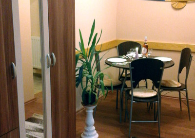 Családi apartman étkező 2