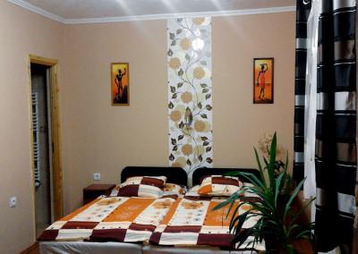 Családi apartman hálószoba 1
