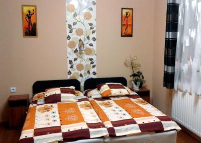 Családi apartman hálószoba 2